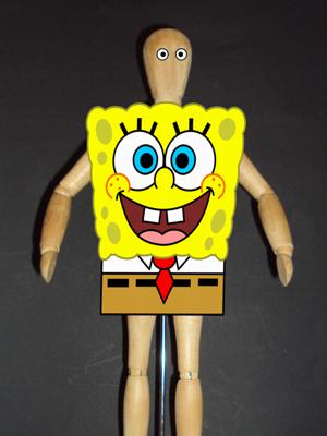 disfraz de bob esponja
