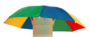 mini paraguas para hacer el disfraz de medusa